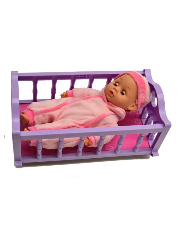 babypop in bedje