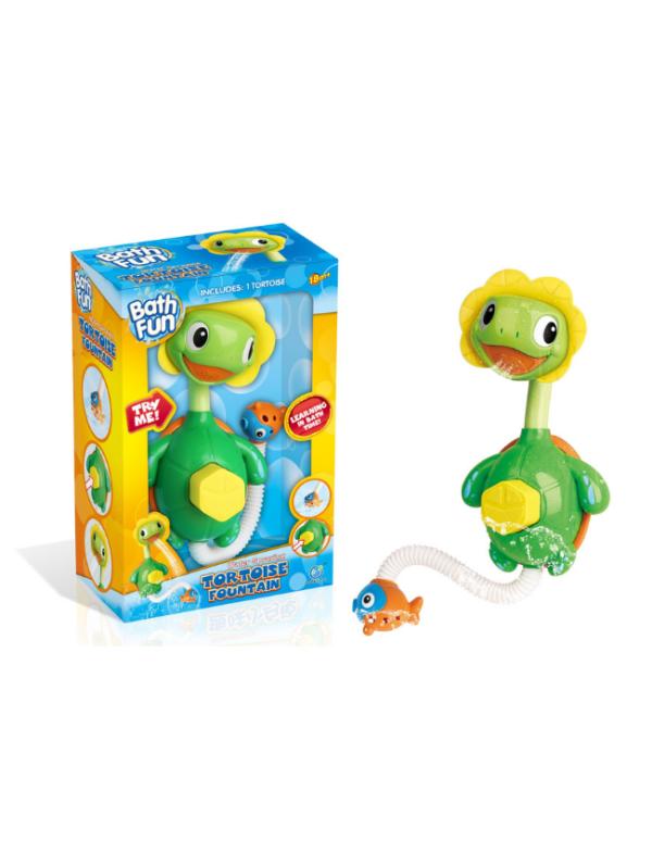 schildpad waterspray badspeelgoed