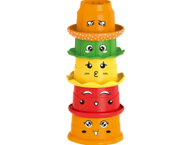 hamburger stapelcups