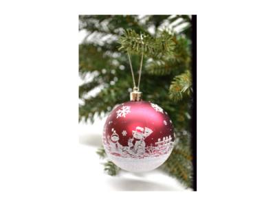 kerstballen 6 stuks