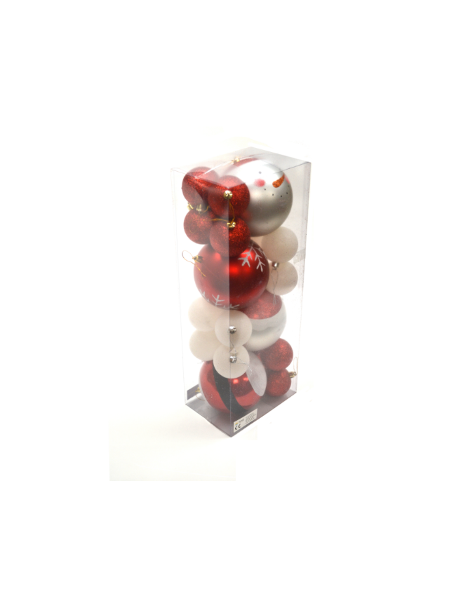 Kerstballen Special Christmas Design 20pcs Seasondm