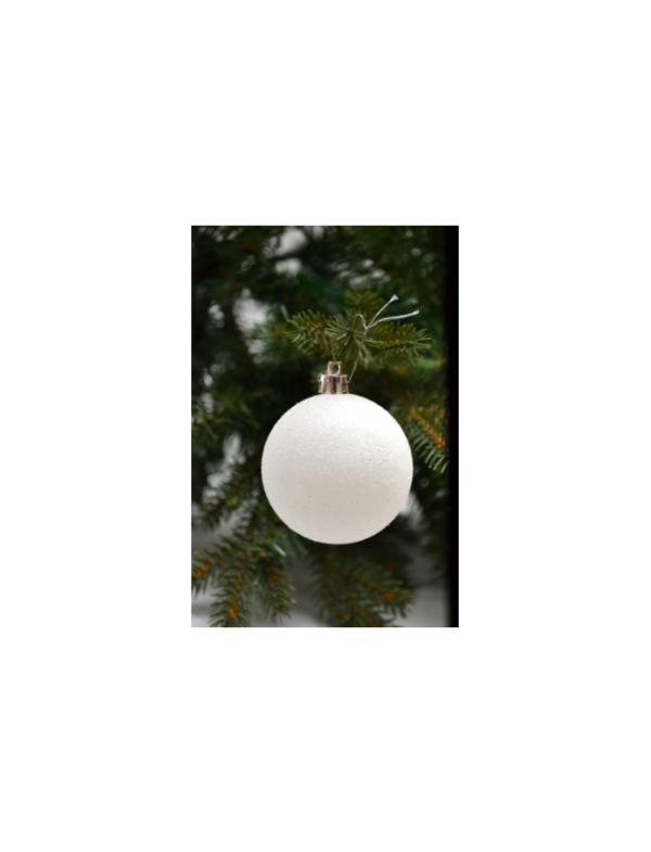 kerstballen wit 20 stuks