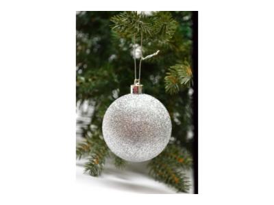 kerstballen zilver 20 stuks set