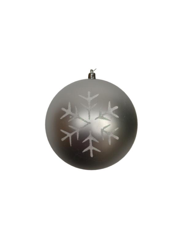 kerstballen zilver