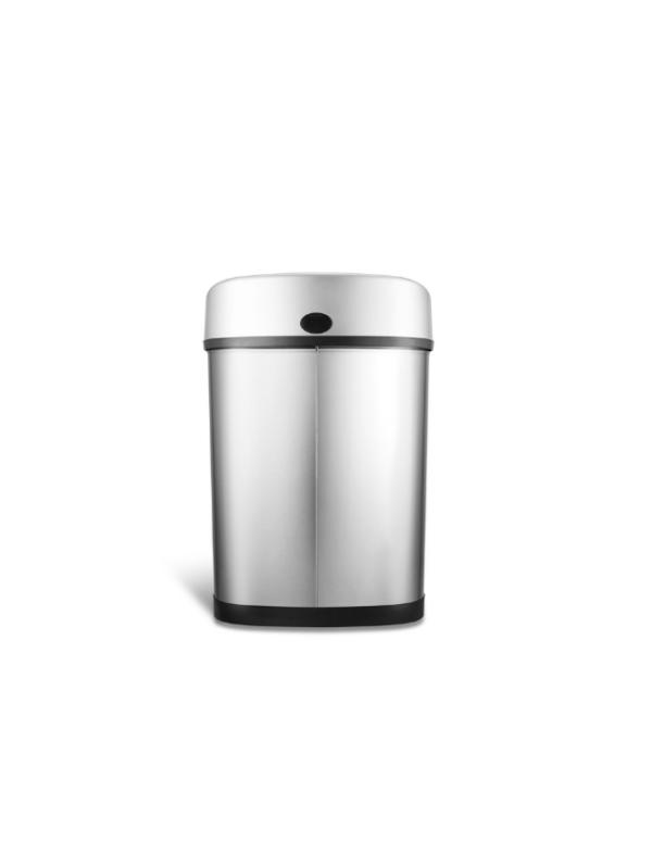 sensor prullenbak automatisch afvalbak 43 liter achterkant