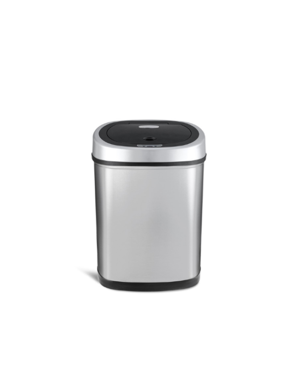 sensor prullenbak automatisch afvalbak 43 liter front