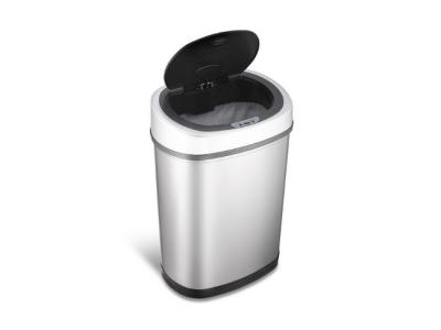 sensor prullenbak automatische afvalbak 43 liter open