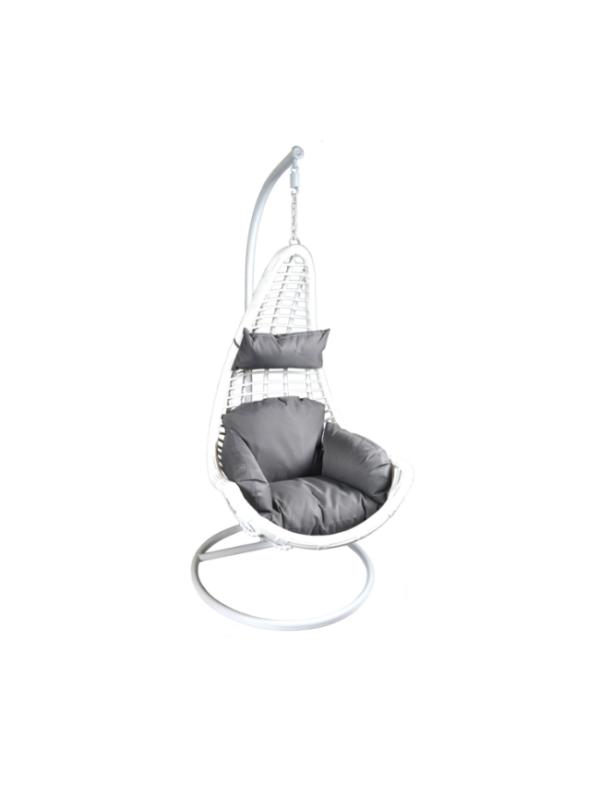 hangstoel schommelstoel layba wit