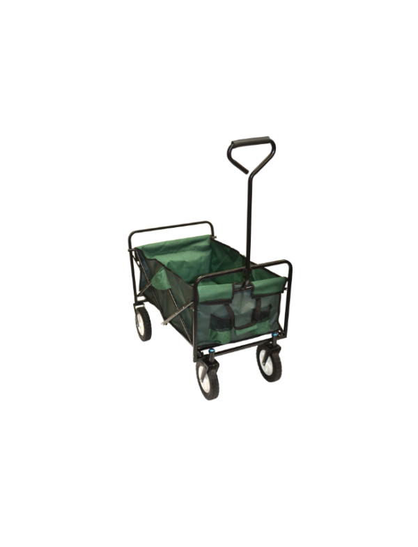 bolderkar bolderwagen strandwagen groen