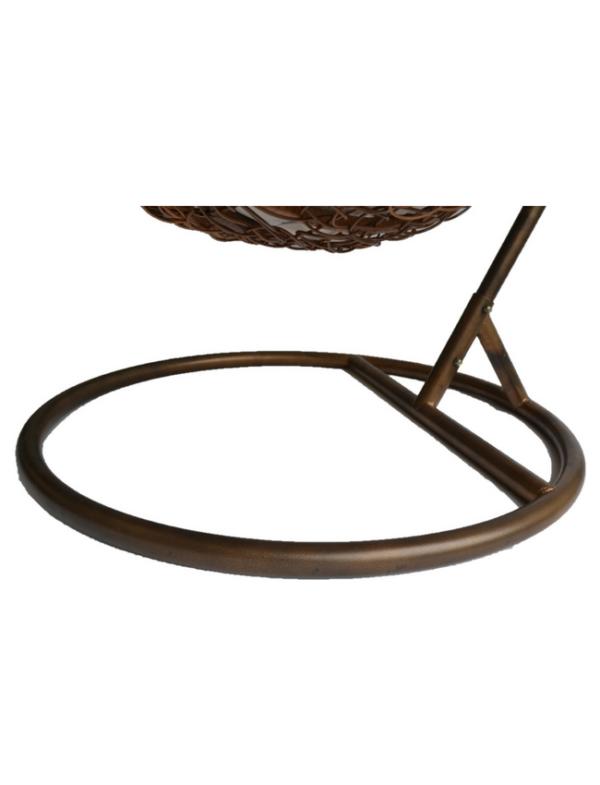 hangstoel frame bruin