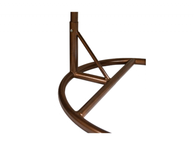 frame hangstoel bruin