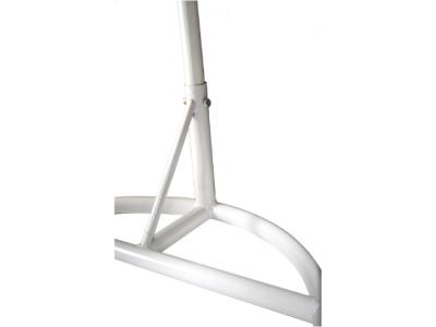 hangstoel frame wit