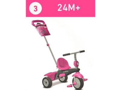 driewieler roze smart trike