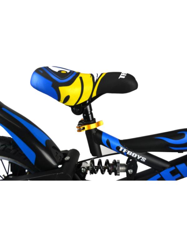 kinderfiets bike blauw