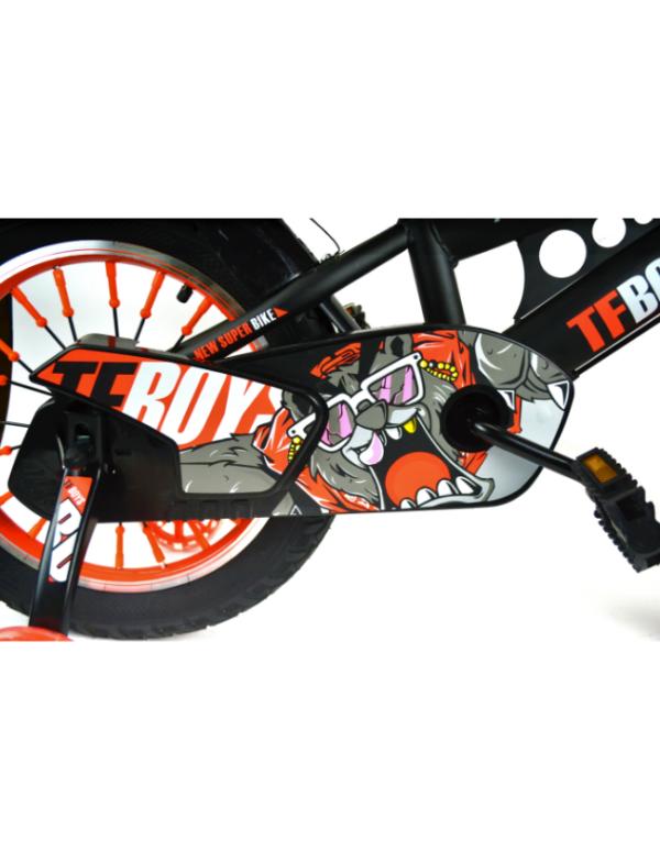 kinderfiets oranje leeuw bike