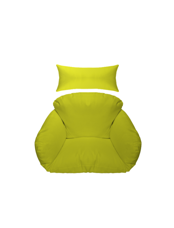 hangstoel kussen groen
