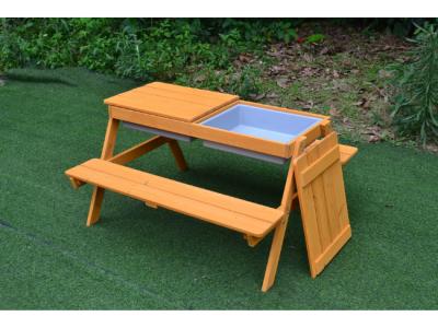 houten picknicktafel kinderen speeltafel