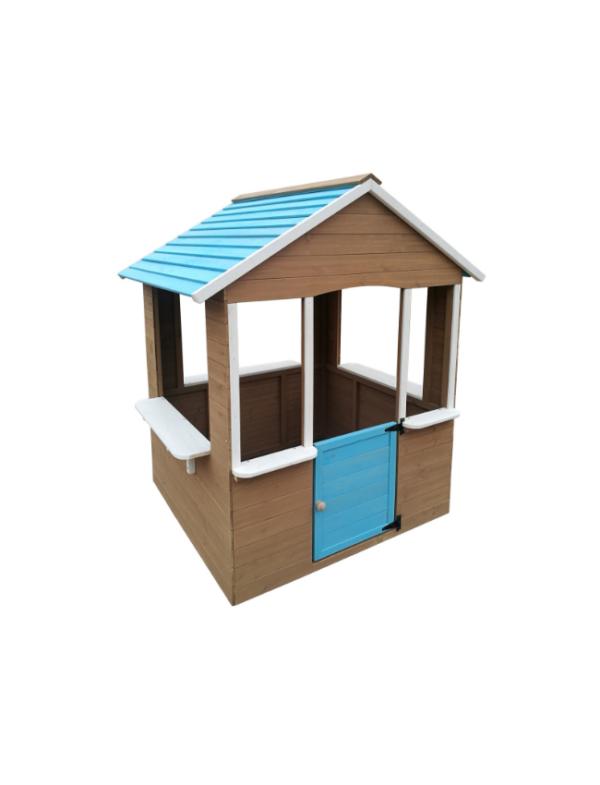 houten speelhuis kind