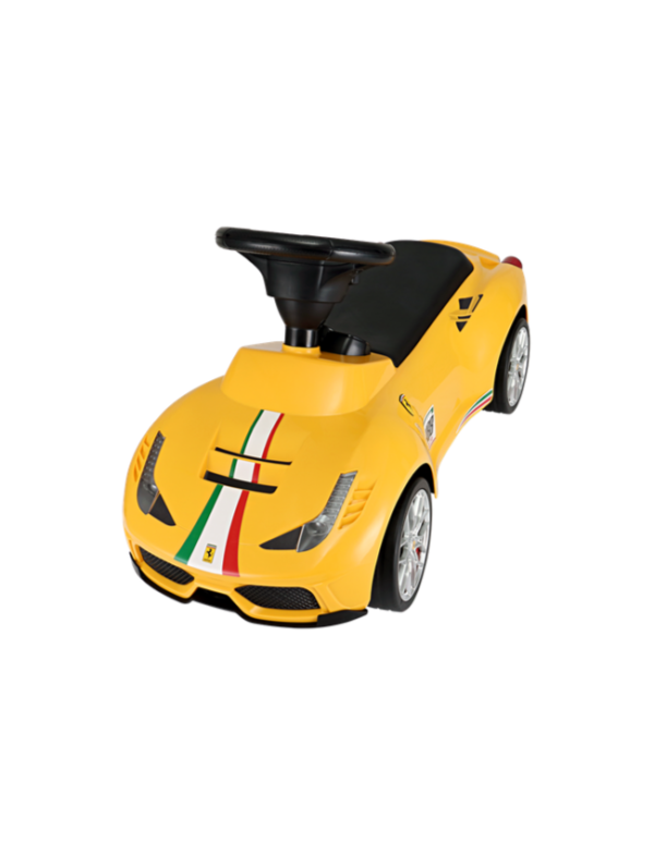 loopauto ferrari geel kind