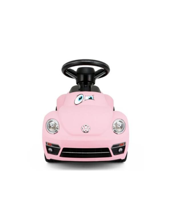 loopauto volkswagen beetle roze