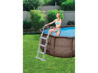 bestway zwembad power steel frame